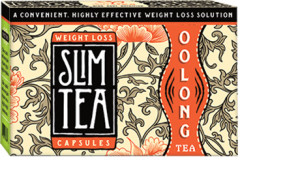 Wu-Long Tea Slim Capsules | Burns 400% More Fat Than Slim Tea Bags